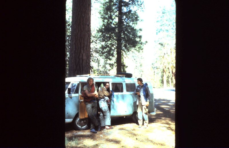 Cliff Naveaux, Reed Cundiff, Mike Mcgoey in Yosemite