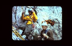 Rock Climbing Photo: Reed Cundiff, Fred Beckey, Kings Canyon