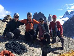 Rock Climbing Photo: Summit of Lions Way