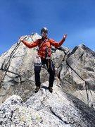 Rock Climbing Photo: Nick on Pigeon
