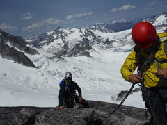 Rock Climbing Photo: Summit of Pigeon Spire