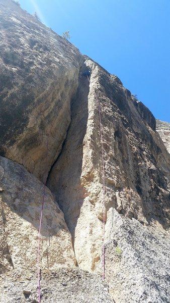 Rock Climbing Photo: Plinko