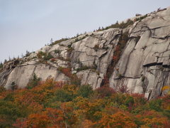 Rock Climbing Photo: Left side: There is a bolted climb on the slab at ...