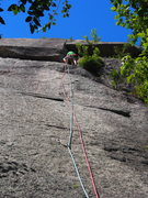 Rock Climbing Photo: Variation Start to Bullit