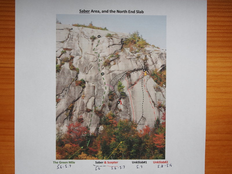Rock Climbing Photo: Right side of Cliff