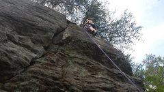 Rock Climbing Photo: sawnee