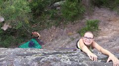 Rock Climbing Photo: me and my girl