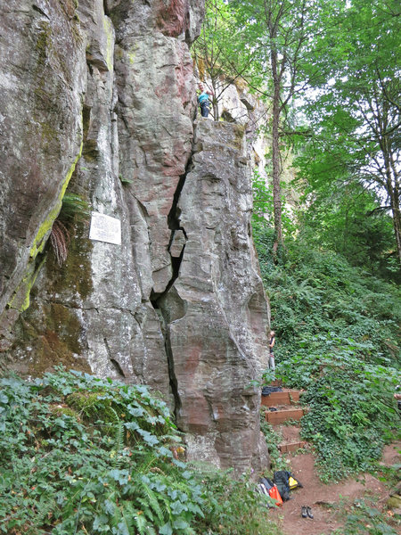 Rock Climbing Photo: Sanity Assassin