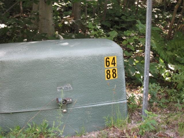 Kinsman Trail Marker