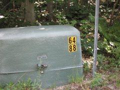 Rock Climbing Photo: Kinsman Trail Marker