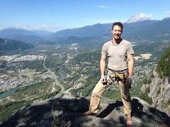 Rock Climbing Photo: top of Squamish Buttress