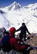 Rock Climbing Photo: Noreen Flynn on the Northwest Ridge.