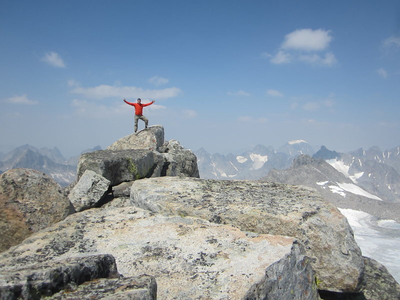 Fremont Peak, summit