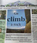 Holy Water adopt-a-crag, September 12, 2015