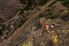 Rock Climbing Photo: Without the bolts. Inspired by Scott Bennett.  Pho...