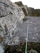 Rock Climbing Photo: Pitch 3. Good climbing, pretty sustained 5.8 with ...