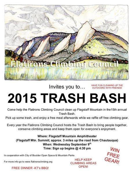 Trash Bash.