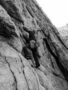 Rock Climbing Photo: Howard Ballou starting up Cumulonimbus!