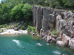 Rock Climbing Photo: Johnson Shut-ins