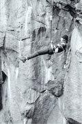 Rock Climbing Photo: Having fun off the Diving Board, 1972, #1.  Photo:...