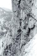 Rock Climbing Photo: Having fun off the Diving Board, 1972, #2.  Photo:...