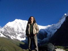 Rock Climbing Photo: Langtang, Nepal