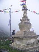 Rock Climbing Photo: On the way to langtang, Nepal