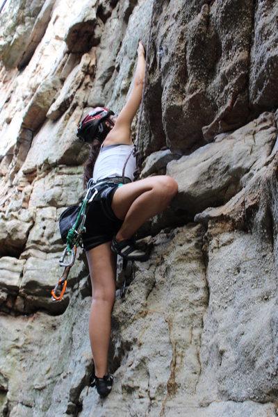 Rock Climbing Photo: Climbing at Sandrock, Al