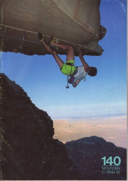 Randy Leavitt on Desert Gold, July 1991<br> <br> Photo by Bill Freeman.