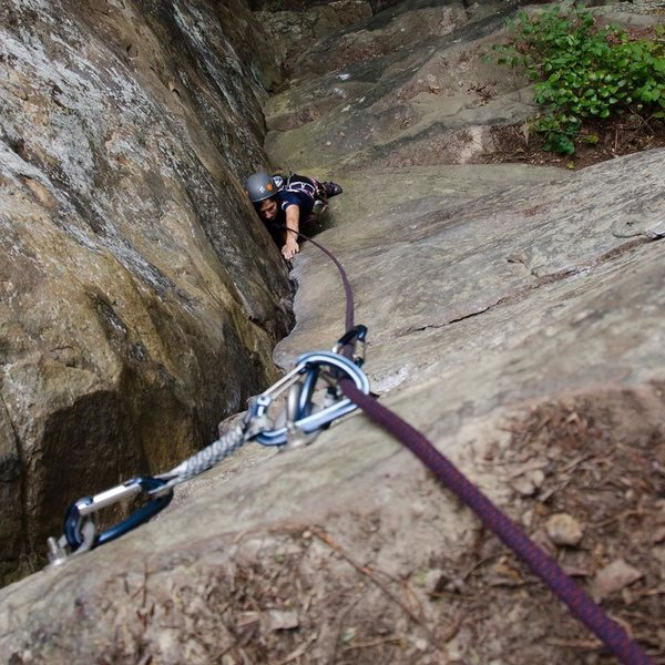Rock Climbing Photo: New River Gorge in WV