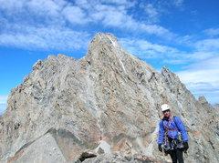 Rock Climbing Photo: Middle Teton/ Jackson-Woodmencey Dihedral