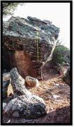 Rock Climbing Photo: Apotheosis problem beta.