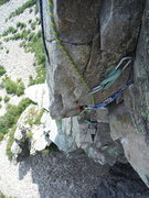 Rock Climbing Photo: The Pipe Pitch