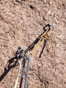 Rock Climbing Photo: The anchor could use a chain and some quicklinks i...