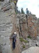 Rock Climbing Photo: Roy on FA