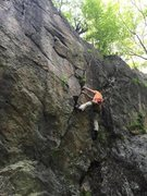 Rock Climbing Photo: Me on Pronghorn.