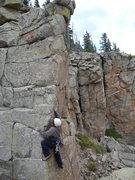 Rock Climbing Photo: Mopping Up Banshee Gravy FA