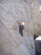 Rock Climbing Photo: On Captain Morgan.