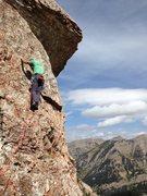 Rock Climbing Photo: Pitch 4 of 5