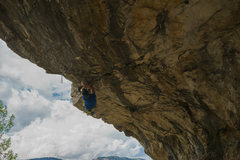Rock Climbing Photo: Natural Born Puller 5.13a - in the cave