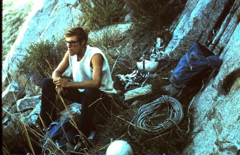 Rock Climbing Photo: Bill Hackett, SWM