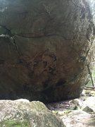 Rock Climbing Photo: Loop Trail Boulder West side. Its tall enough I co...