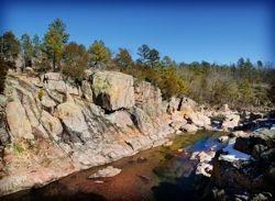 The beautiful Castor River