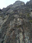 Rock Climbing Photo: Route line- Sunhat Memo