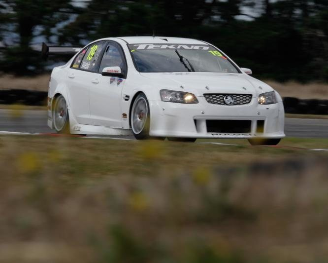 My car in Aussie V8 supercar series race.