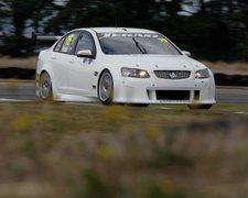 Rock Climbing Photo: My car in Aussie V8 supercar series race.