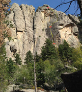 Rock Climbing Photo: WHW overview, central