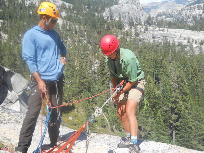 Nothing like a little Rappel!