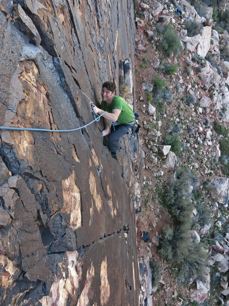 Rock Climbing Photo: Andrei Zippy on Topless Twins