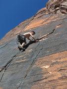Rock Climbing Photo: Andrei Zippy cruising Straight Shooter